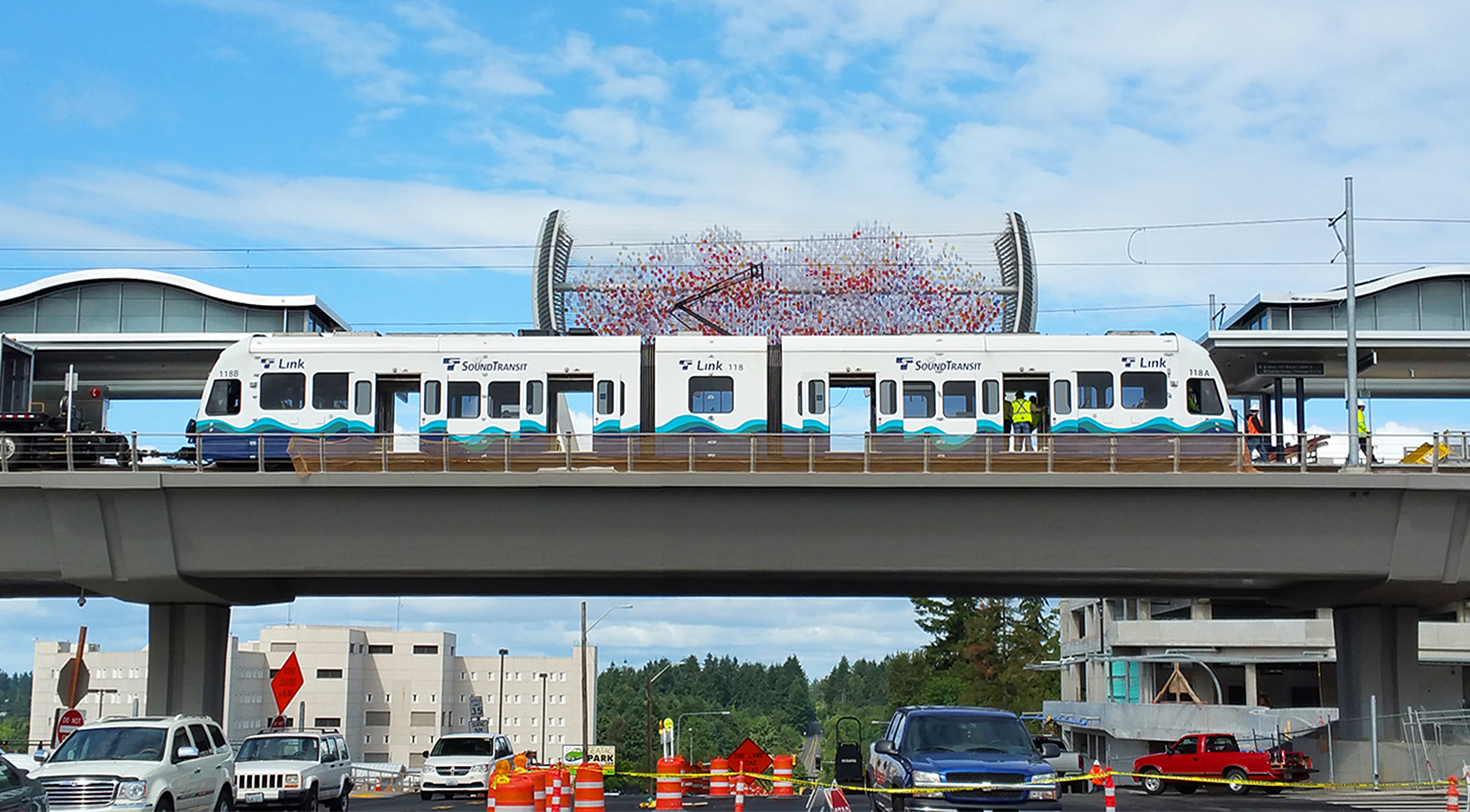 S. 200TH LINK EXTENSION - SOUND TRANSIT